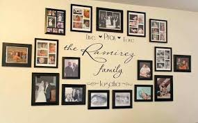 family picture wall ideas picture frame wall ideas for decorating awesome idea for my decorating family family picture wall ideas