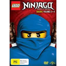 LEGO Ninjago Masters of Spinjitzu - Season 2 Volumes 3 & 4 | DVD