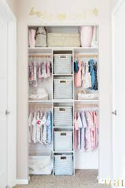 diy nursery closet organization and tips