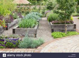 The Kitchen Garden Raised Beds Made Of Quercus Robur English Oak The Kitchen