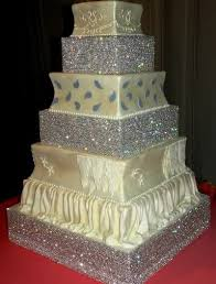 wedding cakes with edible bling. Interesting Wedding CAKES WITH EDIBLE BLING  Remarkable Rhinestone How Tall Can Your Wedding  Cake Bling Go And Cakes With Edible O