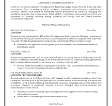 Template Line Cook Resume Sample Monster Com Examples For Resume