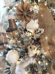 Rustic Christmas Ornaments Rustic Farmhouse Christmas Tree And Easy Diy Christmas Tree Ornaments