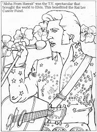 Small Picture 15 best Elvis coloring pages images on Pinterest Coloring
