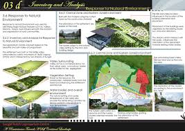 Landscape Design Presentation Board Inventory And Analysis Process Preliminary Land8
