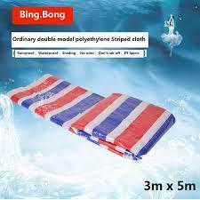 <b>3mx5m oilcloth 100</b>% <b>waterproof</b> fabric PE plastic paulin <b>100</b> ...