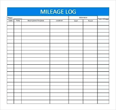 Excel Spreadsheet Download Free Mileage Office Expense Excel Sheet