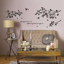happiness is being home againvinyl quotes wall stickers and black