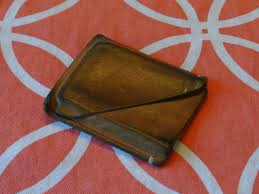 a little over a year ago i made a leather wallet for charles he was tired of keeping a large one in his pocket and wanted one that was a bit more