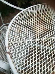 painted metal patio furniture. Repainting Metal Furniture: Easy As 1-2-3 Painted Patio Furniture