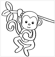 How are monkeys depicted in movies and cartoons? Funny Monkeys Coloring Page For Children From The Gallery Monkeys Monkey Coloring Pages Animal Coloring Pages Cartoon Coloring Pages