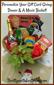 dinner a gift basket idea how to personalize your gift card giving
