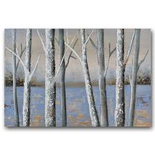 wood wall art benjamin parker x27 birch x27 24 x 48 inch hand on hand painted wood wall art with shop benjamin parker birch 24 x 48 inch hand painted wood wall art