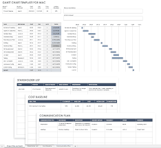 Gantt Chart Mac Free Excel Templates For Mac Pm Accounting More