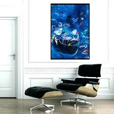 wall prints wall prints wall prints beautiful blue abstract print of painting large wall art fl wall prints wall prints