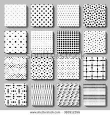 patterns furniture. Vector Polka Dot Seamless Patterns Set. Elegant Black White Graphic Background For Wallpaper, Fabric Furniture N
