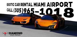 Exotic car rental Miami Airport at Luxury Car Rental USA