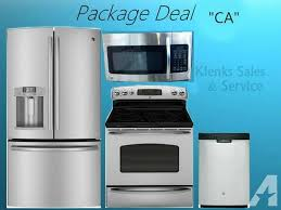 Kitchen Appliance Packages Canada Kitchen 4 Piece Stainless Steel Kitchen Appliance Package 00008