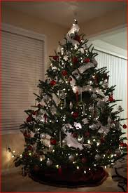 christmas trees decorated in red and silver. Exellent Silver Red Silver Christmas Tree Decorating Ideas For Full Resolution By Using  Download Link We Provide Here  Download Image Original Resolution  Intended Trees Decorated In And
