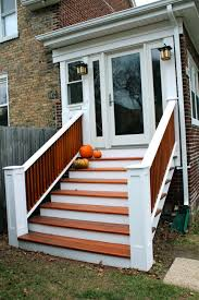 furniture exterior wood stair railing kits wooden spiral stairs