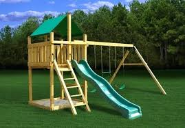 plan it play discovery with swing beam outdoor playset plans backyard wooden free