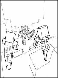 Minecraft Da Colorare E Stampare 6 Disegno