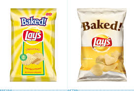baked lay s packaging before and after