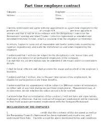 Employment Agreement Contract Impressive Employment Agreement Template Free Download Independent Contractor