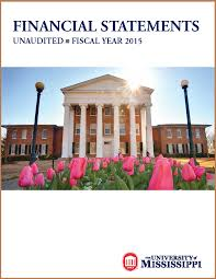 administration and finance university financial reports 2015 financial statement