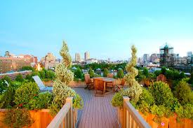 Small Picture NYC Roof Garden Terrace Composite Deck Planter Boxes Container