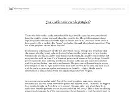 argumentative paper euthanasia argumentative euthanasia essay any essays essays