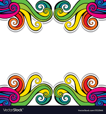 Colorful Designs Colorful Swirl Design Background