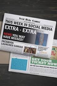 facebook launches canvas this week in social a
