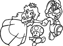 Coloring Pages Mario Paper And Luigi Jam Bros Page Brother Glamorous