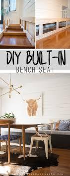 Diy Built In Storage Splendid Diy Banquette Storage Bench 43 Diy Banquette Storage