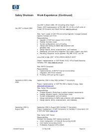 Sap Business One Technical Consultant Resume Mm Certified Resumes