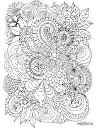 Printable Abstract Free Coloring Pages On Art Coloring Pages