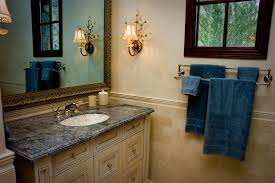 Best Bath Decor bathroom hardware accessories : double-towel-bar-Bathroom-Traditional-with-Bath-Accessories ...