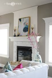No Furniture Living Room Bright White With A Pop Of Color Living Room Reveal Remington Avenue