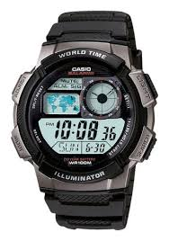 casio men s digital sport watch black ae1000w 1bvcf best buy casio men s digital sport watch black larger front