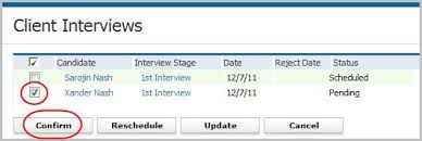 How To Confirm An Interview Interview Confirm