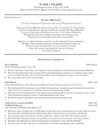 Sample Labor And Delivery Nurse Resume Labor And Delivery Nurse ...