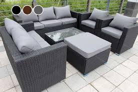 rattan garden furniture ireland. Perfect Furniture A Brown Rattan Garden Furniture Set On A Patio Rattan2 On Rattan Garden Furniture Ireland