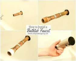 bathtub valve how to install a new shower valve how to install copper to shower and