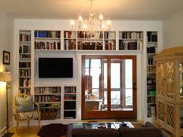 Built In Bookcase Making Built In Shelves From Ikea Bookshelves Built In