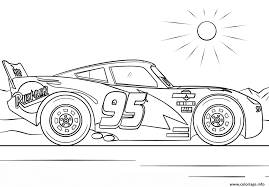 Images De Coloriage Lightning Mcqueen From Cars 3 3 Disney Dessin