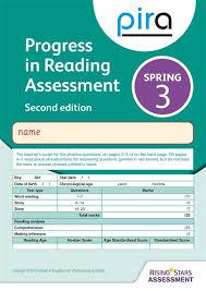 Word Test 3 Pira Test 3 Spring Pack 10 2ed Progress In Reading Assessment