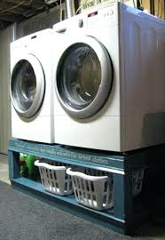 medium size of unusual washer dryer pedestals projects in and pedestal diy with drawers plans