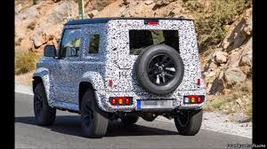 2018 suzuki samurai. wonderful suzuki 2018 suzuki jimny spy shots and suzuki samurai