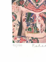 Tattooed People Percy Limited Edition Print By Sir Peter Blake